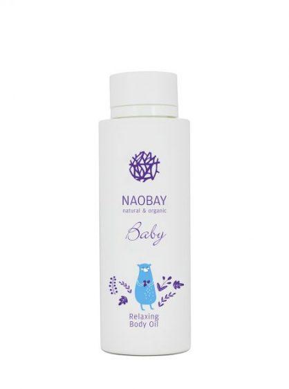 Aceite de baño bebés Naobay