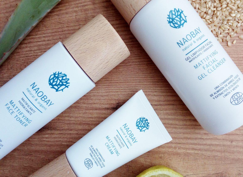Cosméticos naturales para piel grasa Naobay
