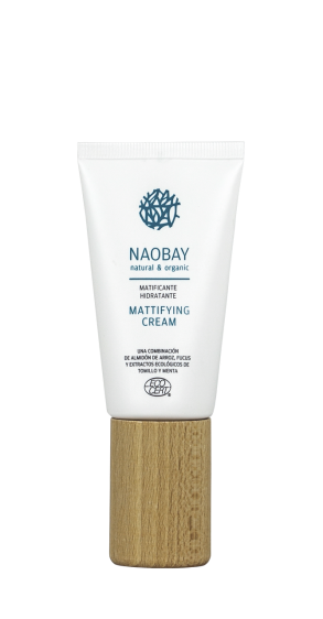 Crema mattificante Naobay